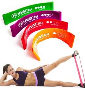 Резиновые мини петли для фитнеса