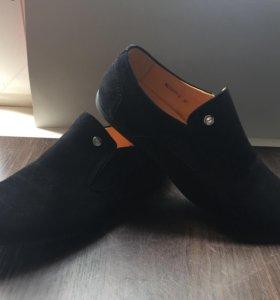Туфли замшевые на мальчика