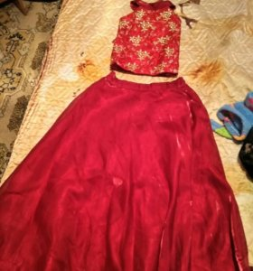 Набор для платья, майка и юбка