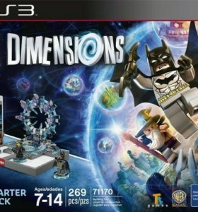 Lego Dimensions 71170 STARTER PACK: PS3