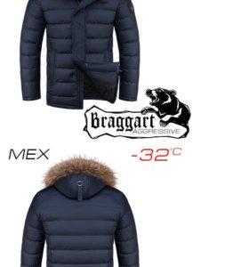 Куртка Braggart мужская зимняя новая 54 р-р