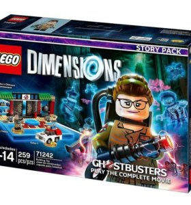 Lego Dimensions 71242 GHOSTUBSTERS STORY PACK