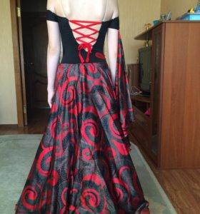 Платье для бальных танцев на стандарт