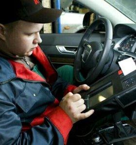 Диагностика иностранных авто по OBD2. Толщина лкп