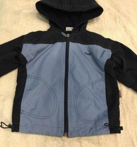 Курточка на флисе 86-92