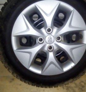 Колеса R-15 для Hyundai Solaris зимние