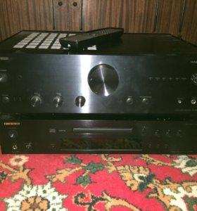 Усилитель Onkyo A-9030 и cd-проигрыватель C-7030
