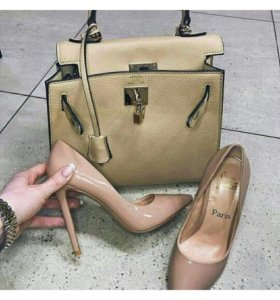 Сумка под Hermes Kelly