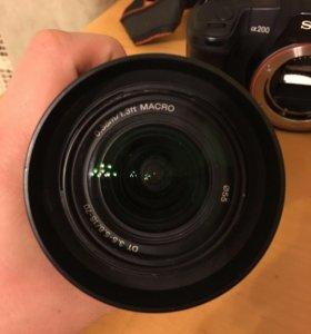Полупрофессиональный фотоаппарат Sony Alpha 200