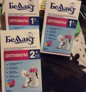 Смесь молочная Белакт Оптимум 1-2