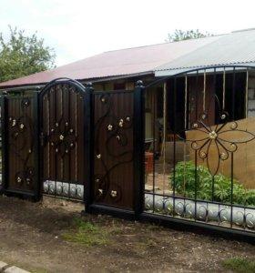 Заборы, ворота, калитки.