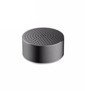 Колонка Xiaomi Mi Portable Round Box серебристый