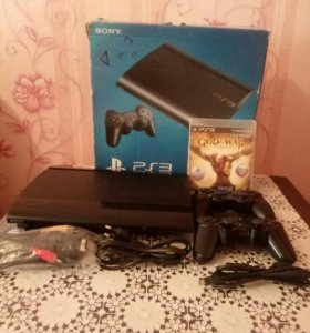 Sony Playstation 3 Super Slim 500gb + Игры