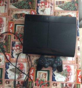 PlayStation3 super slim+геймпад