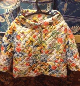 Новая куртка 54 размера от Елены Фурс