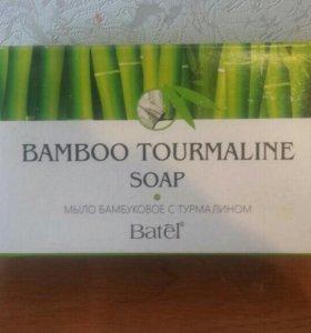 Мыло бамбуковое с турмалином