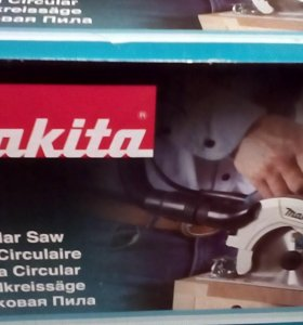 Пила дисковая Makita 165mm HS6601