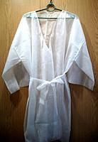 Одноразовый халат-кимоно 5 шт.  Закрытая упаковка
