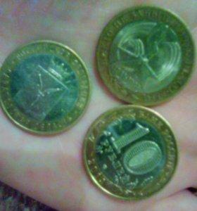 Монеты 10рублей