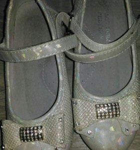 Туфли праздничные для девочки.