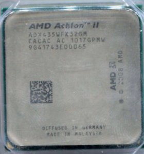 Камень AMD Athlon X3 435 2.9 GHz