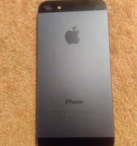 iPhone 5 space grey 16 gb