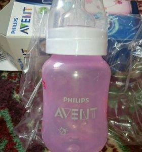 Бутылочка Авент новая