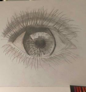 """Картина """"Глаз""""."""