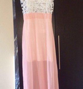 Платье новое длинное 44 размер