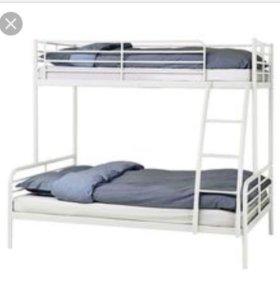 2-ярусная кровать икея ikea