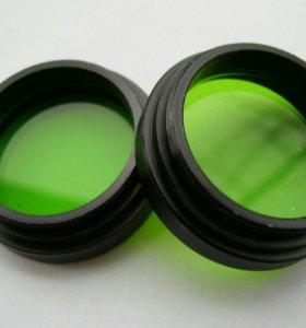 Светофильтр осветителя микроскопа МБС-10,новый.