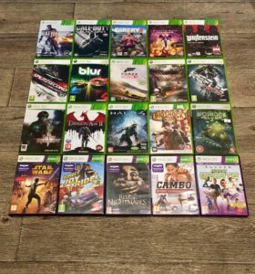 Лицензионные игровые диски для XBOX 360