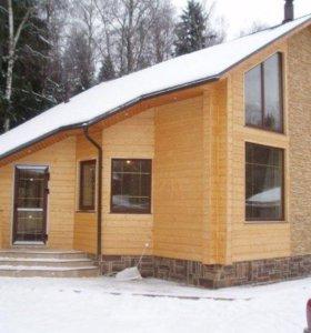 Строительство домов, бань, гаражей, заборов