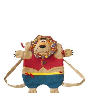 Рюкзак-игрушка в виде забавного Льва