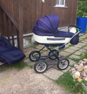 Деткая коляска 2 в 1 marita
