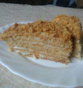 Тортик Медовый