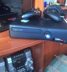 Xbox360 320гб прошитый