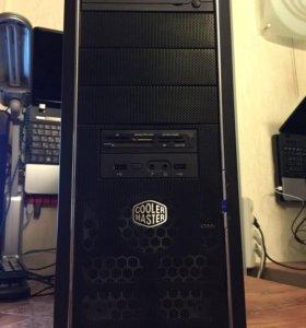 Cooler master,Intel i5,8гигов,HDD500,GTX660-2гига