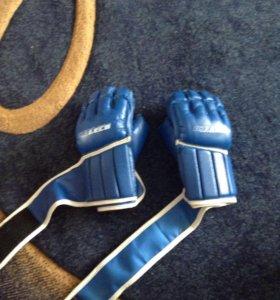 Перчатки для рукопашного боя ПРО синие Б/У