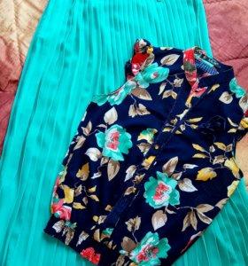 Блуза с юбочкой