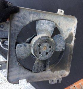 Вентилятор охлаждения Приора