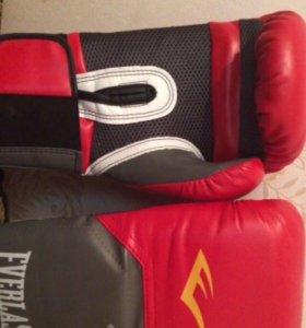 Перчатки боксёрские everlast traning