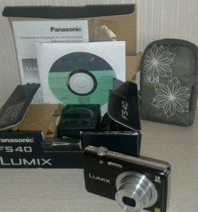 Компактный фотоаппарат panasonic fs40 Lumix