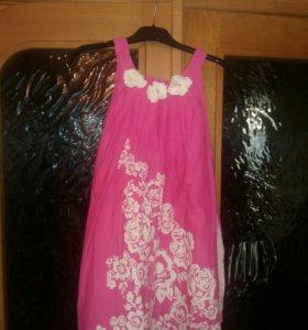 Платье летнее на девочку 9-10 лет