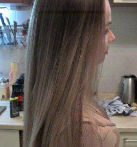 Наращивание волос Окрашивание Стрижка