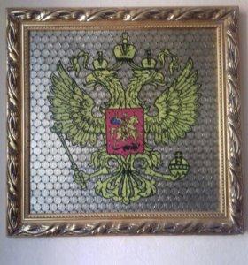 Картина герб России