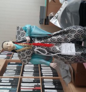кукла коллекционная самурай