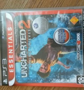 Диск PS3 Uncharted 2