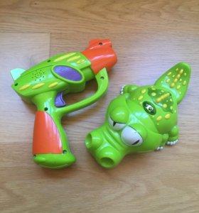 Крокодил с пистолетом Silverlit