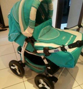 Детская коляска тронсформер зима лето